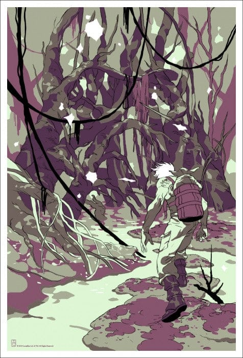 Father Encounter On Dagobah Tomer Hanuka poster