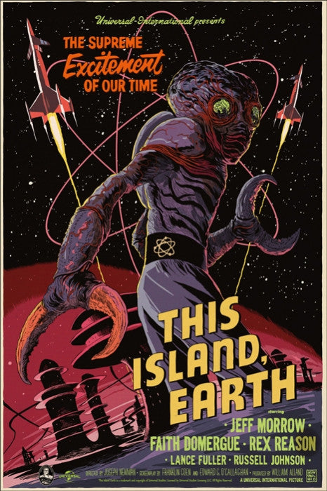 This Island Earth Francesco Francavilla poster