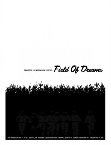 Field Of Dreams Decoder Ring Design Concern poster