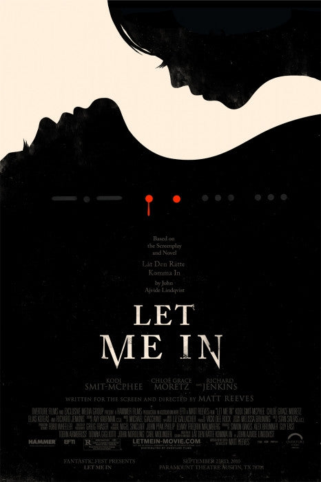 Let Me In Olly Moss poster