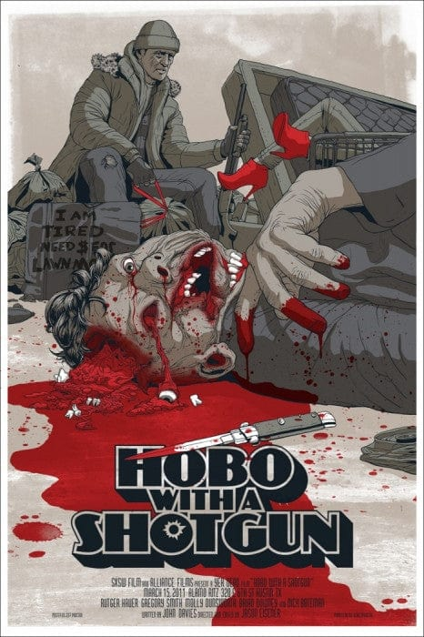 Hobo With a Shotgun Jeff Proctor poster