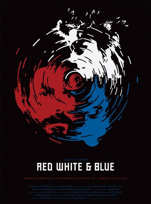 Red White and Blue Sawdust poster