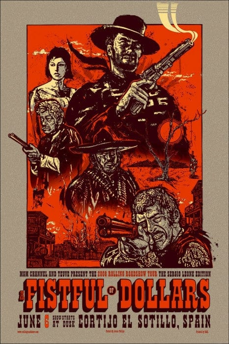 A Fistful Of Dollars Jesse Philips poster