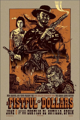A Fistful Of Dollars  Variant Jesse Philips poster