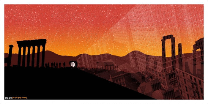 The City On The Edge Of Forever Dan McCarthy poster