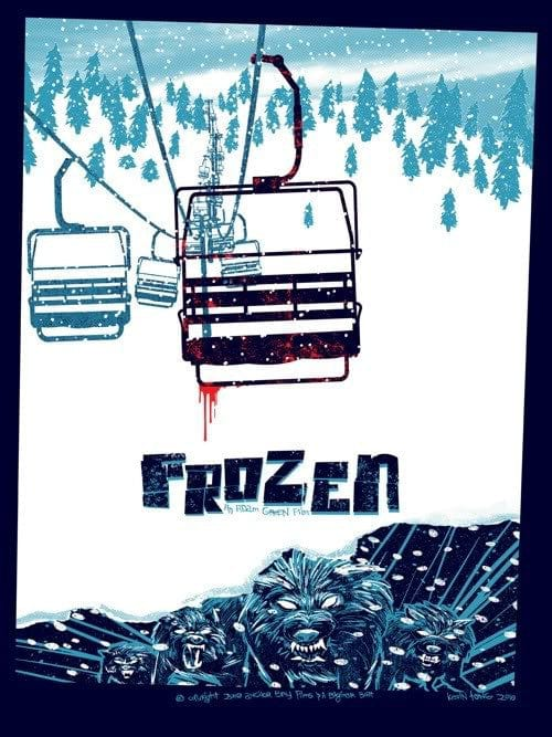 Frozen Kevin Tong poster