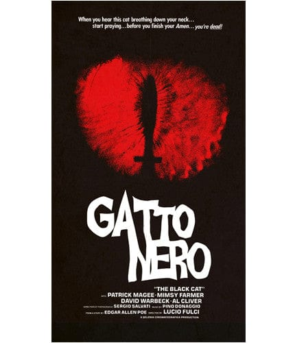 Gatto Nero Jay Shaw poster