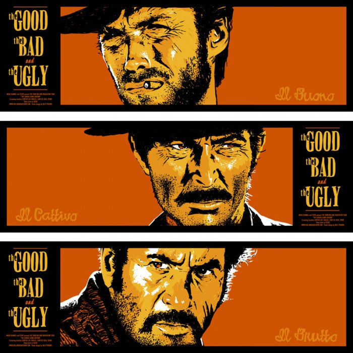 The Good The Bad And The Ugly Billy Perkins poster