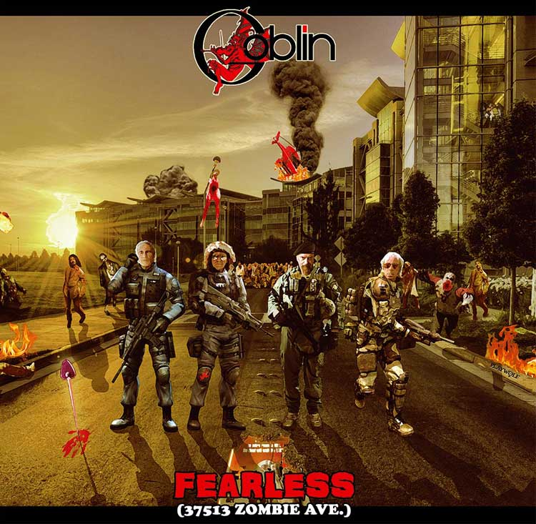 Goblin - Fearless (37513 Zombie Ave) Mondo Exclusive LP