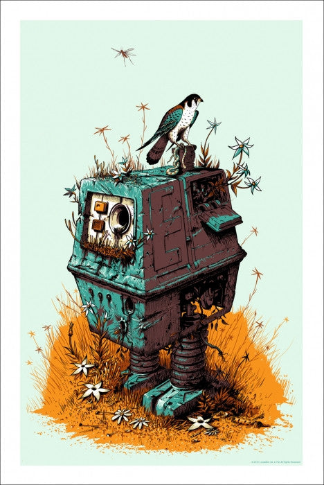 Scrap Yard Power Droid Jeff Soto poster