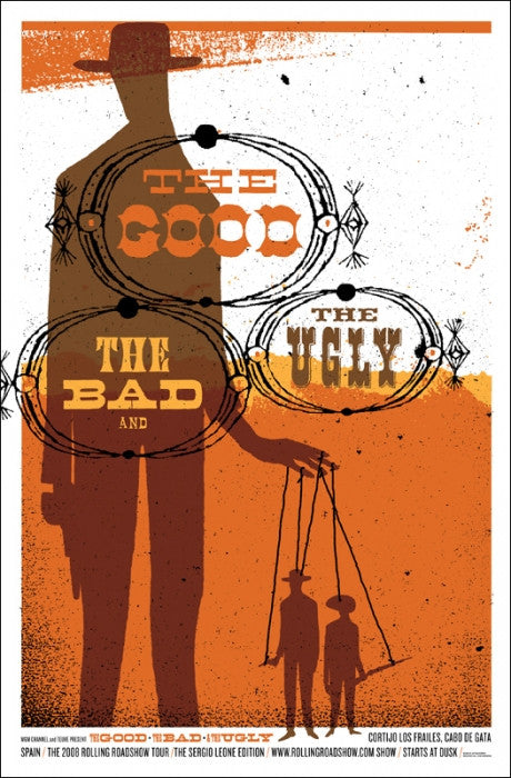 The Good The Bad And The Ugly Jeff Kleinsmith poster
