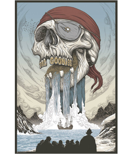 The Goonies Randy Ortiz poster
