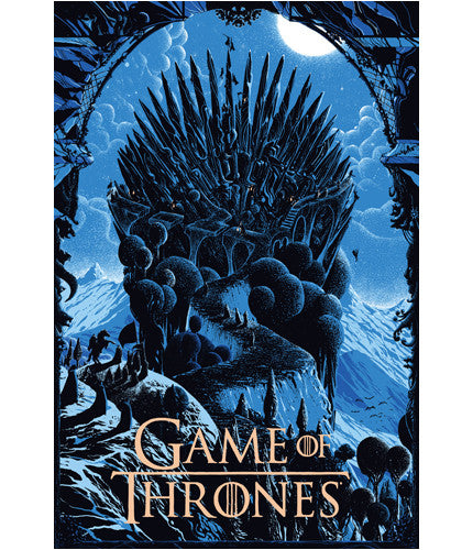 The Iron Throne Kilian Eng poster