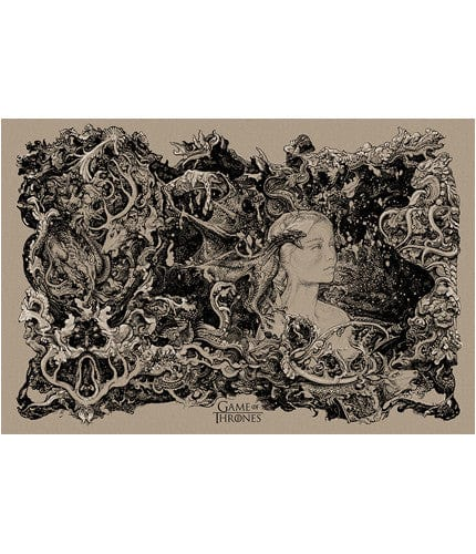 Dany Brown Colorway Vania Zouravliov poster