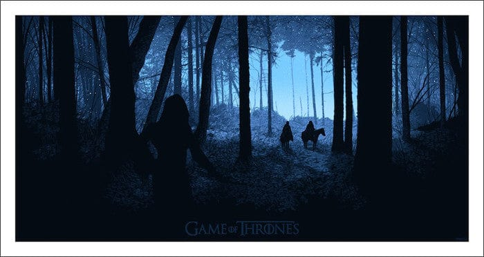 Game of Thrones-Daniel Danger-poster