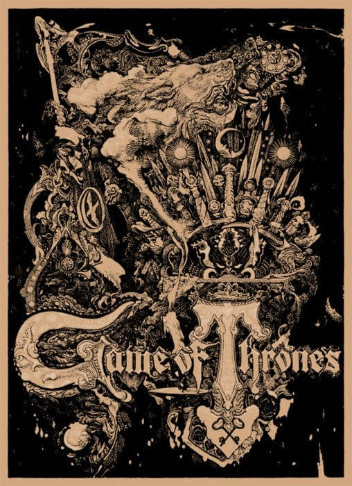 Game of Thrones-Vania Zouravliov-poster