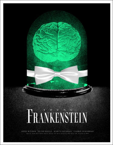 Young Frankenstein Alan Hynes poster