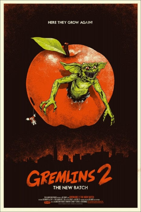 Gremlins 2 The New Batch Phantom City Creative poster