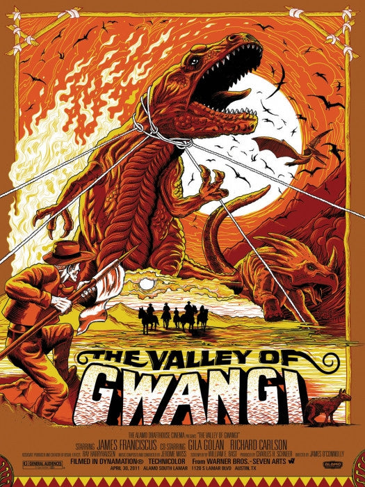 The Valley of Gwangi Mike Saputo poster
