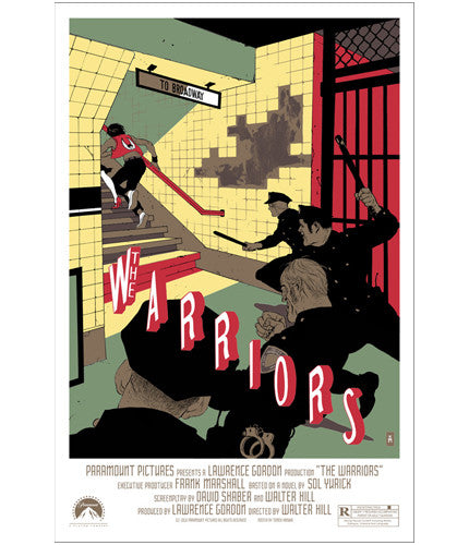 The Warriors  Hanuka Tomer Hanuka poster