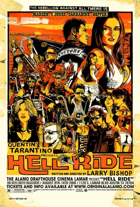 Hell Ride Tyler Stout poster