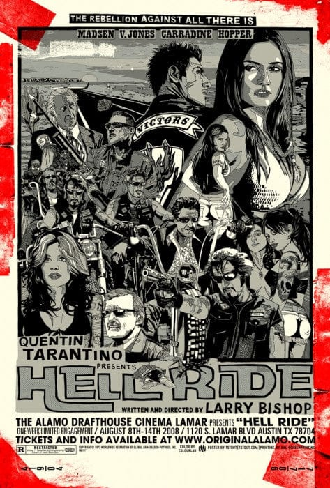 Hell Ride  Variant Tyler Stout poster