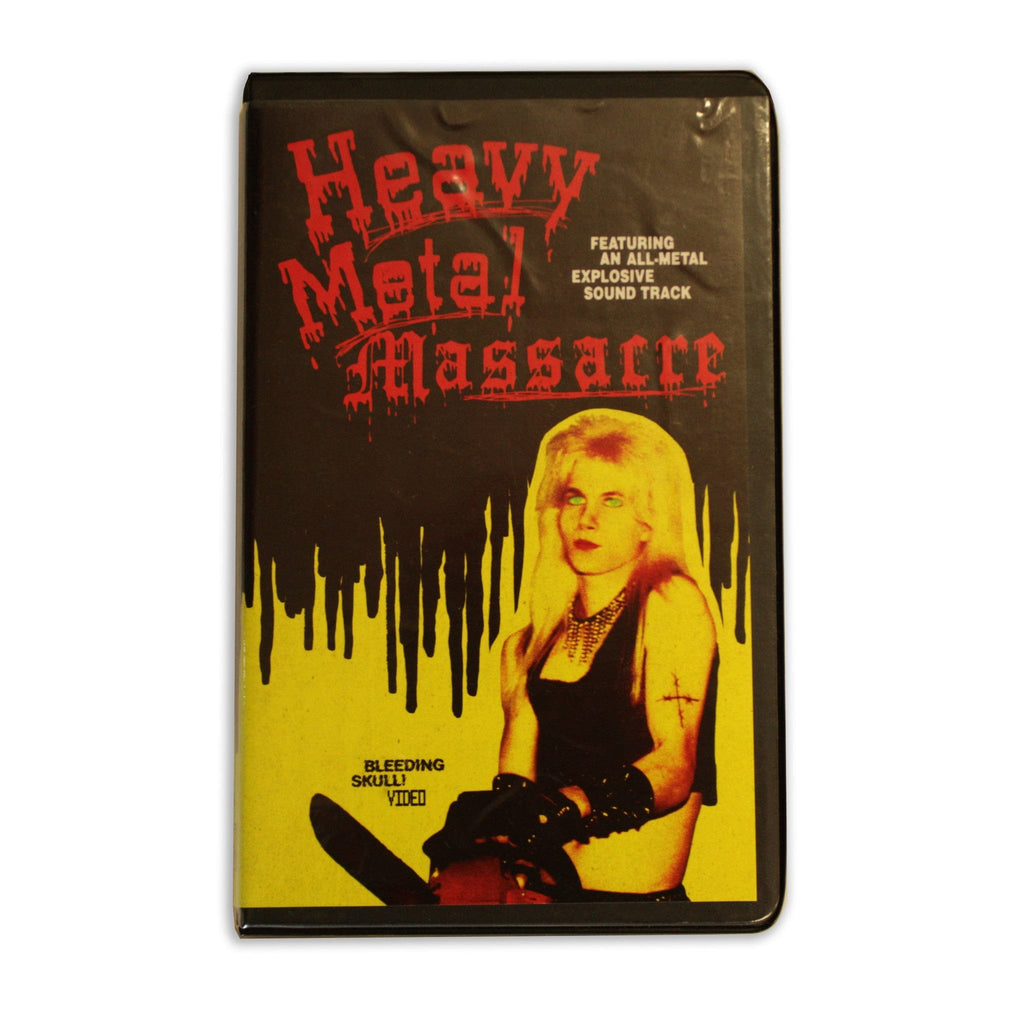 Heavy Metal Massacre VHS