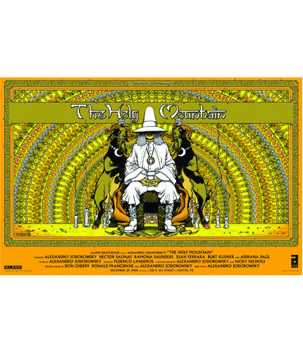The Holy Mountain Florian Bertmer poster
