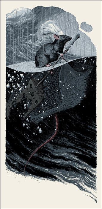Remy Adrift Aaron Horkey Poster