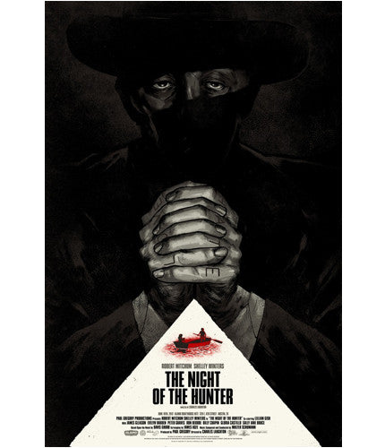 The Night of the Hunter Phantom City Creative poster