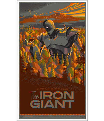 The Iron Giant  Laurent Durieux poster