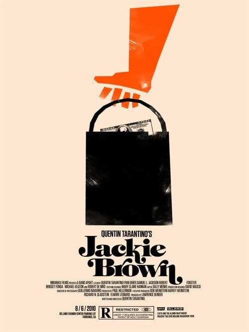 Jackie Brown Olly Moss poster