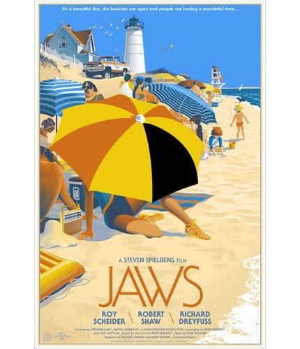 Jaws  Laurent Durieux poster