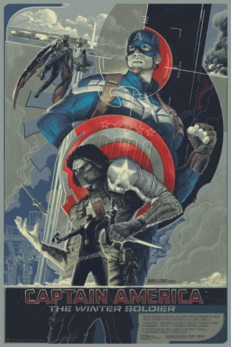 Captain America The Winter Soldier Rich Kelly poster