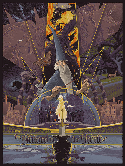 Sword in the Stone Rich Kelly poster