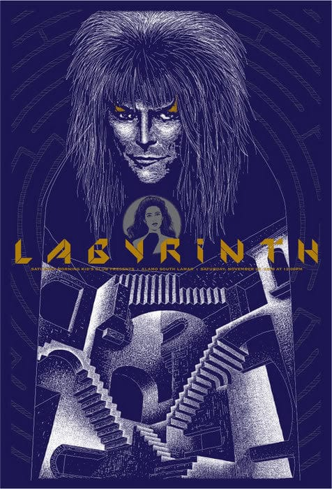 Labyrinth  Variant Todd Slater poster