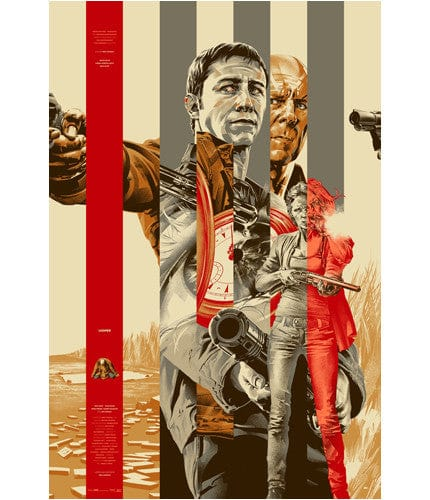 Looper   Gold Colorway Martin Ansin poster