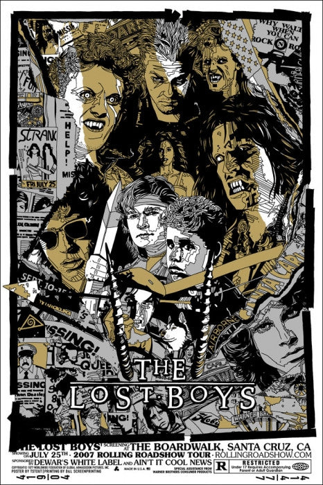 The Lost Boys Tyler Stout poster