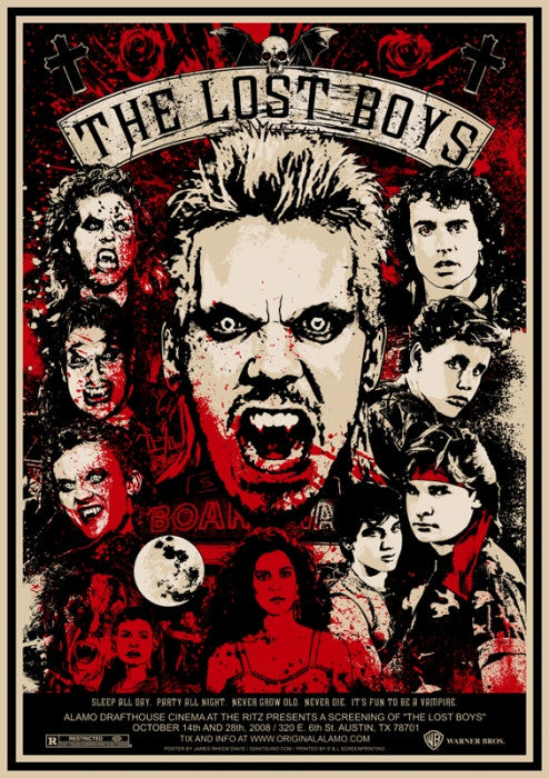 The Lost Boys James Rheem Davis poster