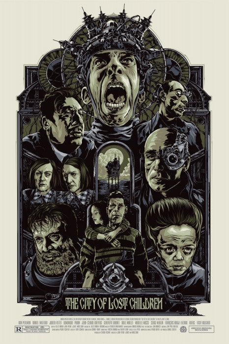 The City of Lost Children   Variant Ken Taylor poster
