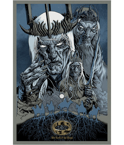 Servants of Sauron Mike Sutfin poster