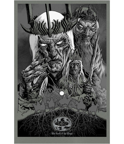 Servants of Sauron   Variant Mike Sutfin poster