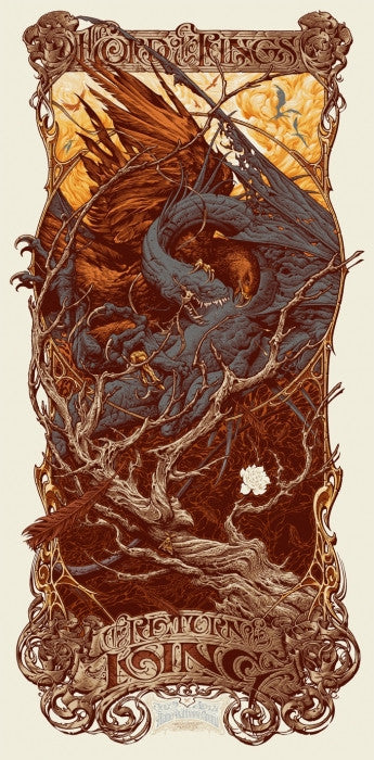 The Lord of the Rings: The Return of the King-Aaron Horkey-poster