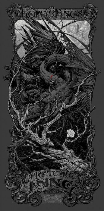 The Lord of the Rings: The Return of the King - Variant-Aaron Horkey-poster