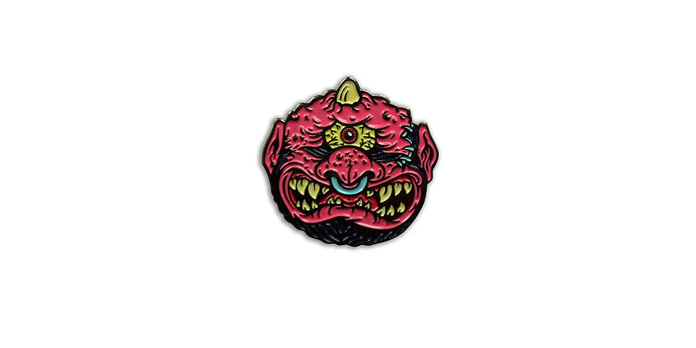 Horn Head Enamel Pin