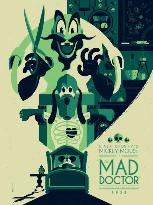The Mad Doctor Tom Whalen poster