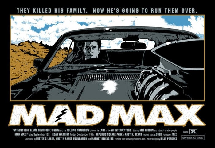 Mad Max Billy Perkins poster