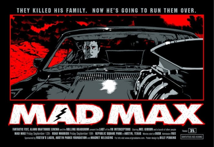 Mad Max  Variant Billy Perkins poster