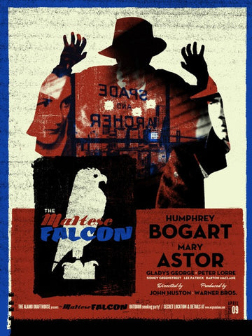 The Maltese Falcon The Silent Giants poster