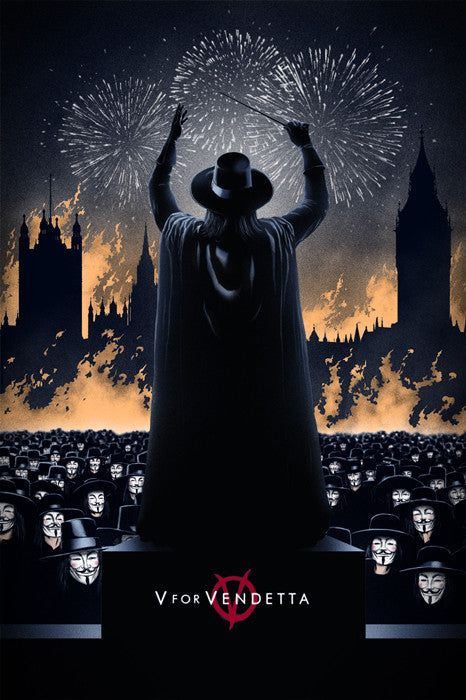 V For Vendetta Manev Marko Manev poster